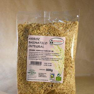 arroz, basmati, integral, ecológico, 500, gr