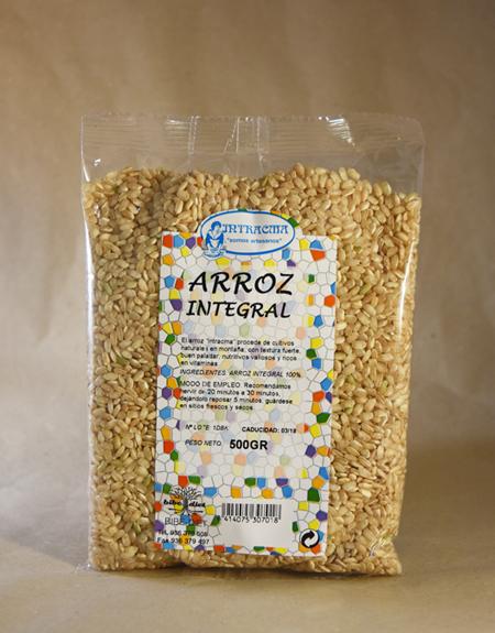 arroz, integral, 500, gr
