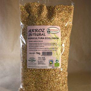 arroz, integral, ecologico, 1kg
