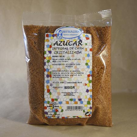Azúcar, de caña, cristalizado, 500gr