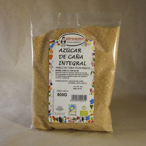 Azúcar, de caña, ecológica, 500gr