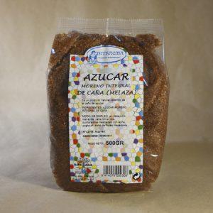 Azúcar, moreno, integral, de caña, Melaza, 500gr