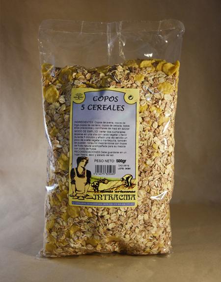 Copos, 5 cereales, 500gr