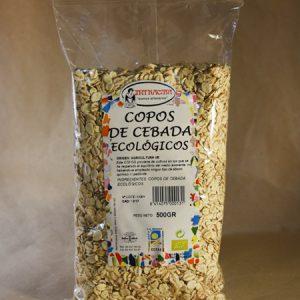 Copos, cebada, ecológico, 500gr
