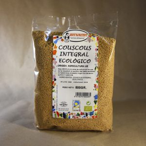 cous cous, integral, ecologico, 500gr, intracma