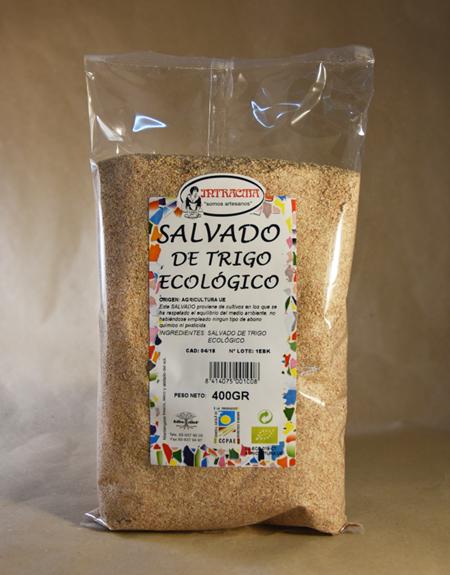 Salvado de trigo, ecológico, 500gr