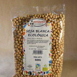 Soja, blanca, ecológica, 500gr