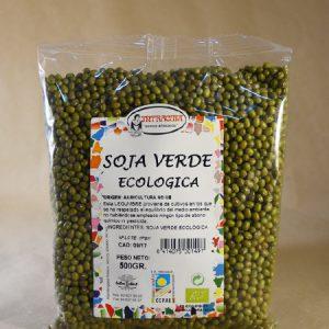 Soja, verde, ecológica, 500gr