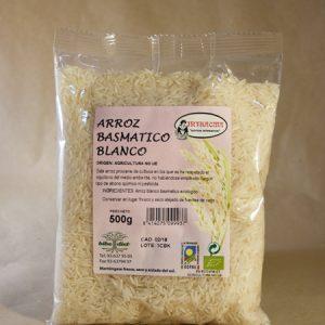 arroz, basmati, blanco, ecologico 500 GR