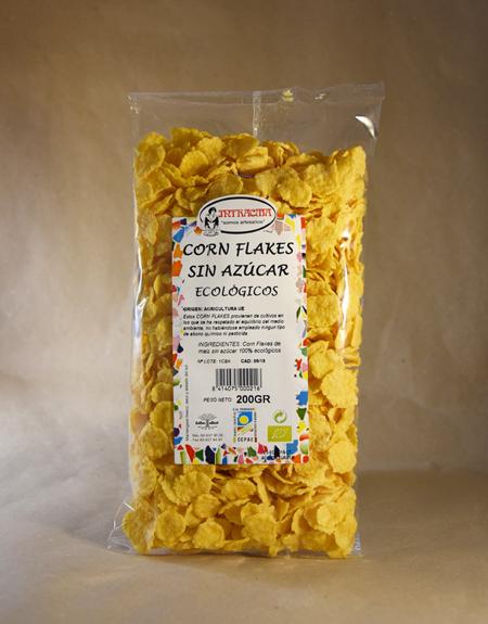 Corn, flake,s sin azúcar, 200gr