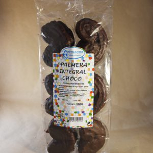 Galleta, palmera, choco, integral, 200gr