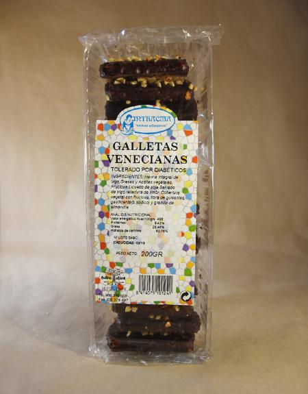 Galletas, venecianas, 200gr