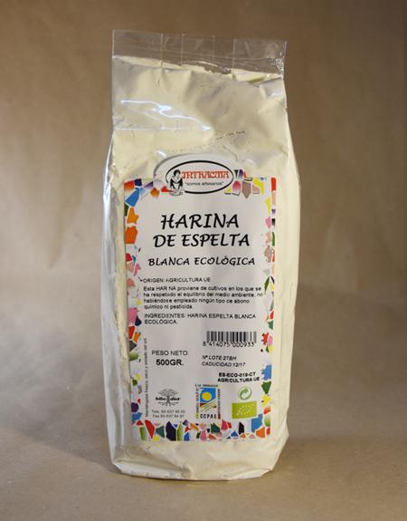 Harina blanca de espelta ecológica 500gr