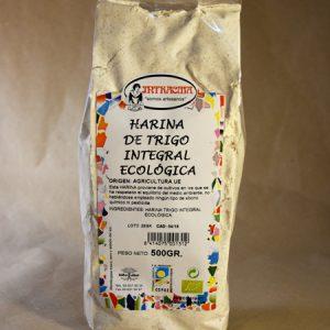 Harina integral de trigo ecológica 500gr