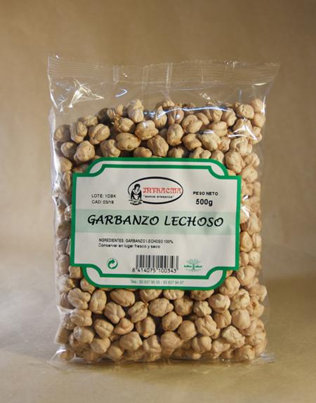Garbanzo, lechoso, 500gr