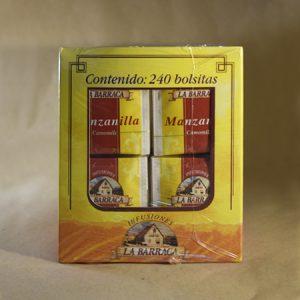 Infusion, manzanilla, 240, bolsas