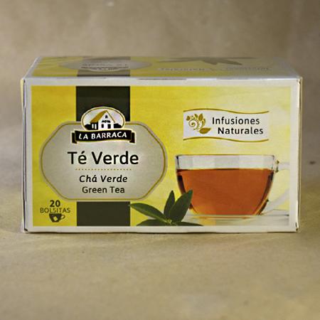 Infusión, té, verde