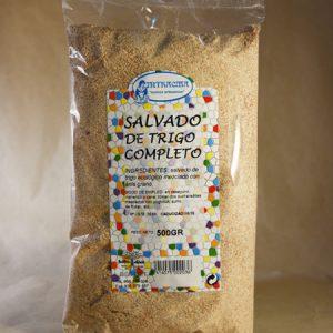 Salvado de trigo, completo, 500gr