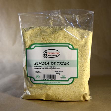 Sémola de trigo, 500gr