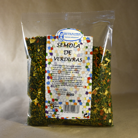 Sémola de verduras, 500gr, intracma