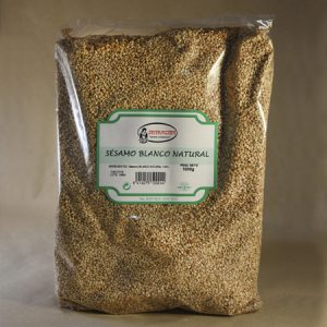 Sésamo, blanco, natural, 1kg