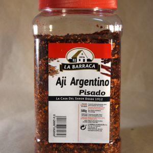 Ají argentino pisado, 500gr, especias, la barraca