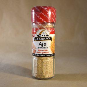 Ajo granulado, 50gr, especias, la barraca
