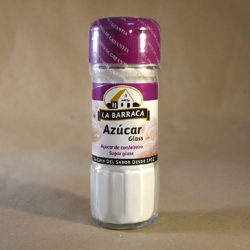 azucar glass, 42gr