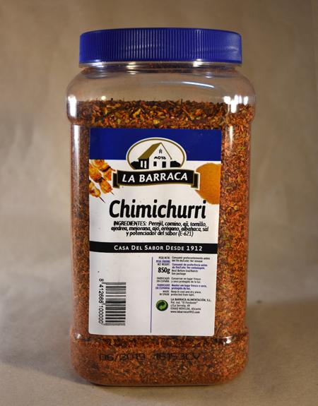 chimichurri, 850gr, especias, la barraca