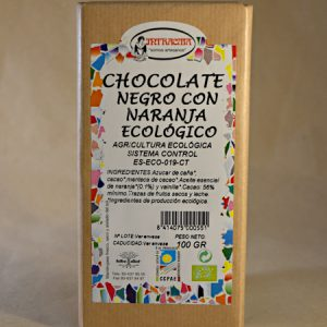 chocolate naranja ecologico, ecologico, intracma