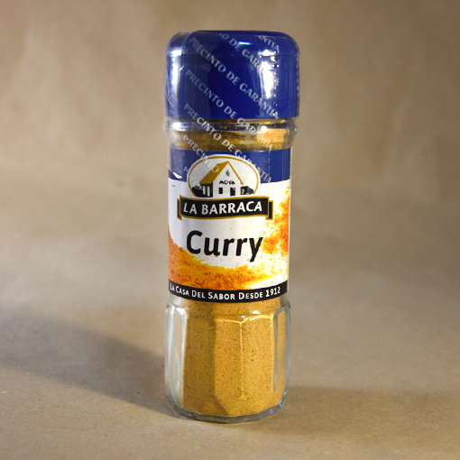 Curry, 40gr, especias, la barraca
