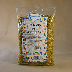 fideos de verduras, 250 gr