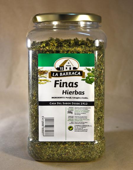 Finas hierbas, 200gr, especias, la barraca