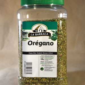 oregano 130gr, especias, la barraca