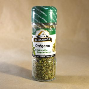 oregano 8gr, especias, la barraca