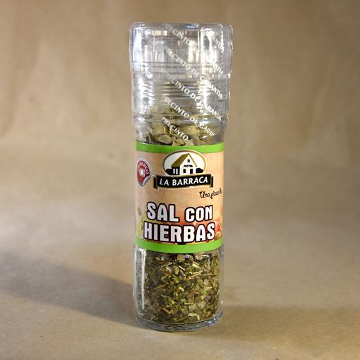 Sal con hierbas, especias, la barraca