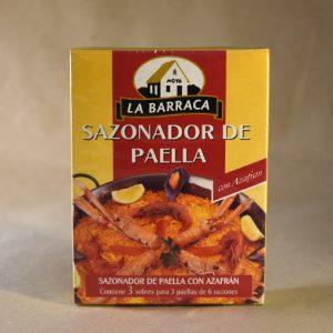 Sazonador de paella, 50gr, especias, la barraca