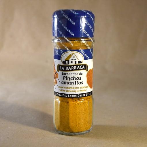sazonador pinchos amarillos, 40gr, especias, la barraca